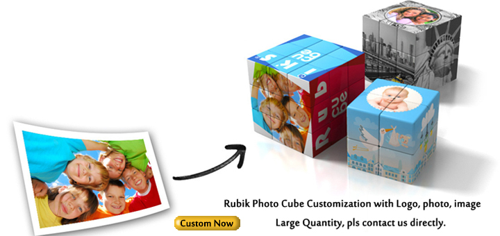 rubiks photo cube customization