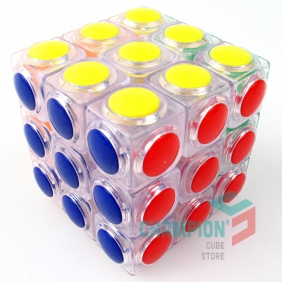 YJ Linggan 3x3 pure transparent
