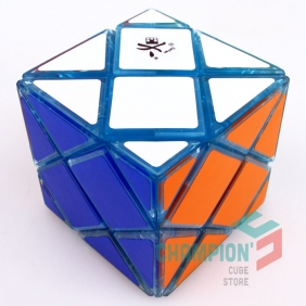 DaYan Dino F-Skewb Cube transparent blue(Limited Edition)