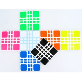 (FBW)Z-Stickers for Witeden 4x4 Mixup Plus cube