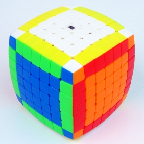 MoYu 7x7x7 Aofu stickerless with z-bright colorscheme