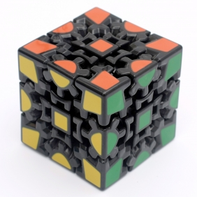 Z-Cube Gear 3x3x3 V1 black with thermal transfer