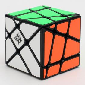 MoYu crazy Fisher cube black