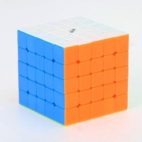 QiYi WuShuang 5x5x5 Stickerless