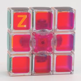 Z-Cube 1*3*3 Cube  Transparent Pink