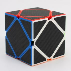 Z-Cube  Skew Cube with Carbon fibre stickers