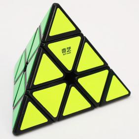 [ QiYi ]  Pyraminx·QiMing A black