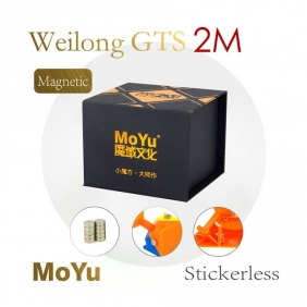 Moyu WeiLong GTS V2 Magnetic cube GTS2M stickerless