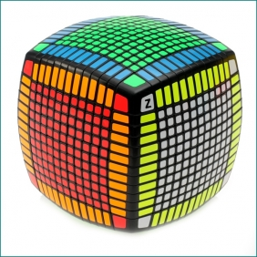 Moyu 13x13x13 cube black with Z sticker DHL free shipping