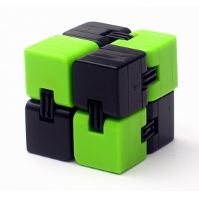 Infinity cube green&black new fidget toy 4*4*4cm