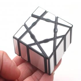 YJ Ghost Cube with Golden Stickers