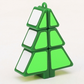 Z-Cube Christmas Tree Cube Green