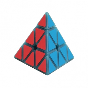 Z-CUBE Magnetic Pyramid Cube Luminous Blue
