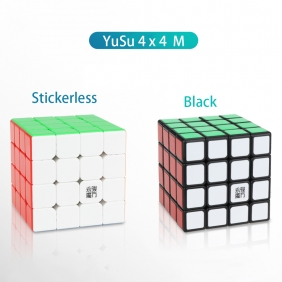 YJ YuSu M 4x4x4 Magnetic Speed Cube