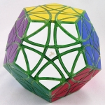 MF8 Helicopter Dodecahedron transparent green