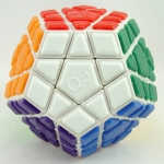 QJ Tiled Megaminx(v2) white