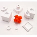 C4U Gas-Assisted Cube 3x3x3 white