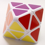 Lanlan Skewb Diamond white