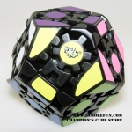 Lanlan Gear Megaminx with simple stickers