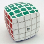 QJ pillowed 5x5x5 white