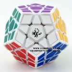 DaYan Megaminx I white with corner ridges