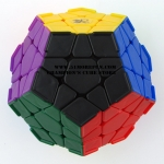 DaYan Megaminx I stickerless version black with corner ridges