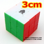 Type C mini 3x3x3 stickerless version