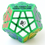 DaYan Megaminx I light green with corner ridges