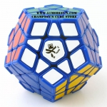 DaYan Megaminx I blue with corner ridges