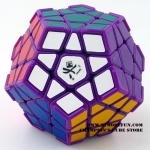 DaYan Megaminx I purple with corner ridges