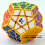 DaYan Megaminx I yellow with corner ridges