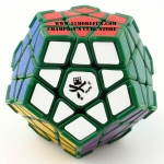 DaYan Megaminx I green with corner ridges