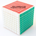 Shengshou Cubic 9x9x9 with primary color