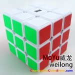MoYu weilong 3x3 white for speed-cubing