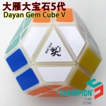 DaYan Gem Cube V with primary color