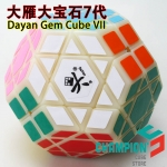 DaYan Gem Cube VII with primary color