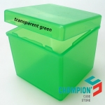Z pp-box transparent green