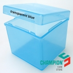 Z pp-box transparent blue