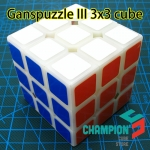 Ganspuzzle III 3x3x3 speed cube with primary color