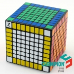Shengshou 9x9 black with SSW Z-stickers