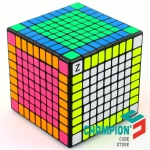 Shengshou 9x9 black with FBW Z-stickers