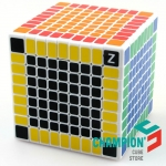 Shengshou 9x9 white with SSB Z-stickers