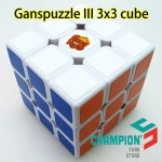 Ganspuzzle III 3x3x3 speed cube white