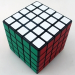 ShengShou 5x5x5 black with mat stickers