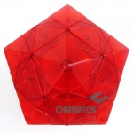 MF8 & Eitan's Star puzzle transparent red(un-stickered)