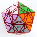 MF8 & Eitan's Star puzzle transparent red