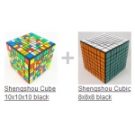Shengshou cubes 8x8 + 10x10 with free shipping