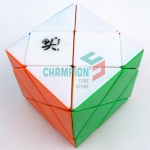 DaYan Dino F-Skewb Cube stickerless version