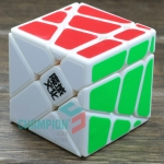 MoYu crazy Fisher cube white