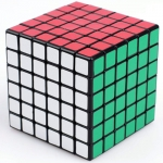 Shengshou 6x6 black with mat stickers
